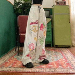 Sweets Elastic Pants