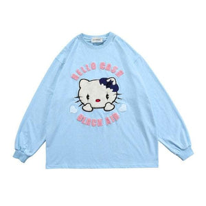 HELLO CASH Long Sleeve Tee