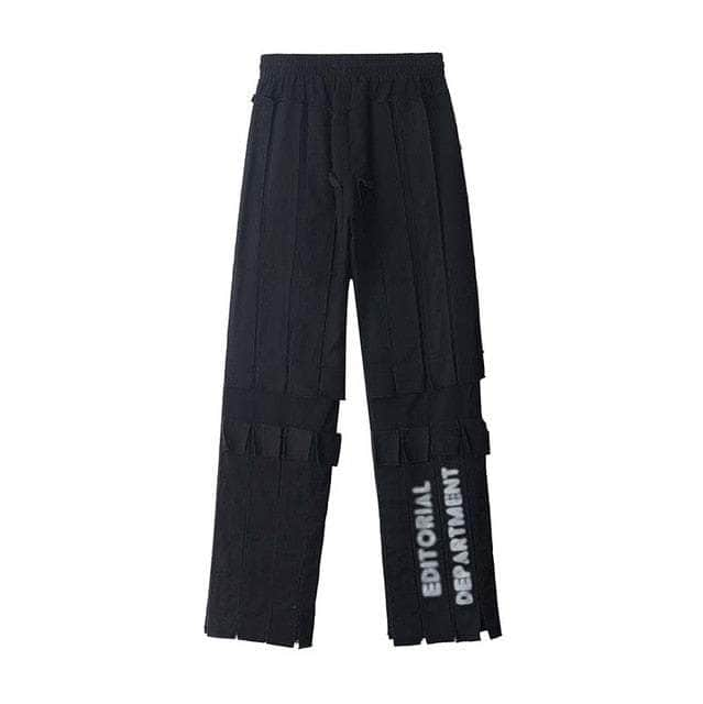 Patchwork SSWQ Straight Pants