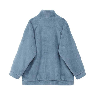 Wool Plush BWS Coat with B-A-G