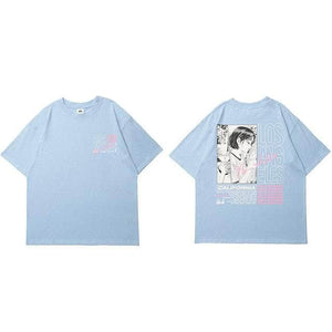 LA Anime Double-Sided Tee