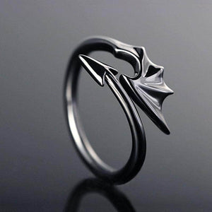 Little Devil Wing Ring