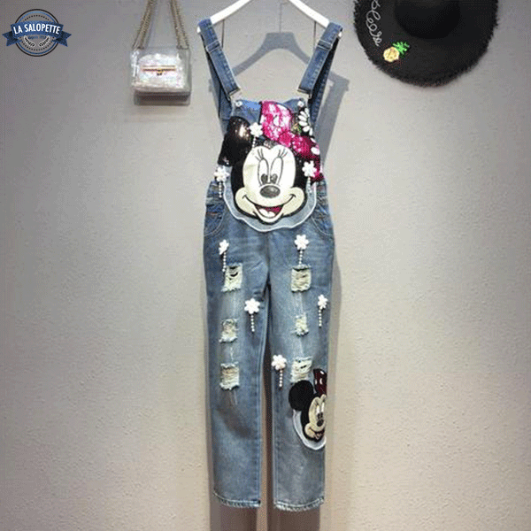 Salopette Denim Minnie