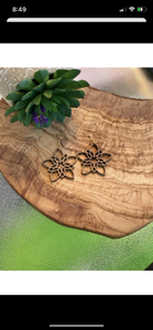 Walnut Blossom Earrings