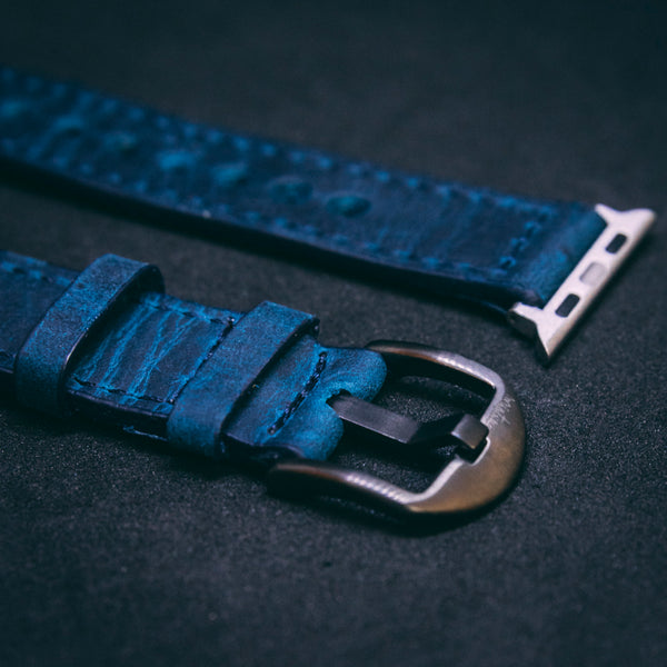 Mistura Watch / Apple Watch STRAPS NAVY