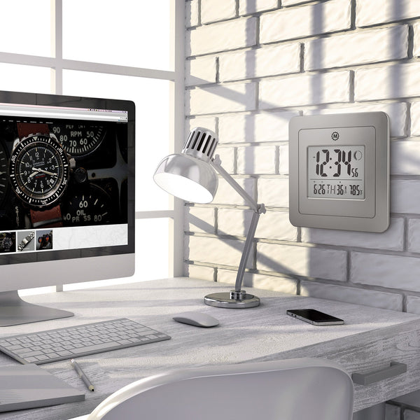 Moon Phase Digital Wall Clock - marathonwatch