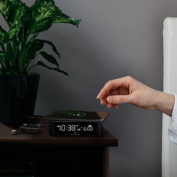 Wireless Fast Dual Charging Clock - Marathon Watch