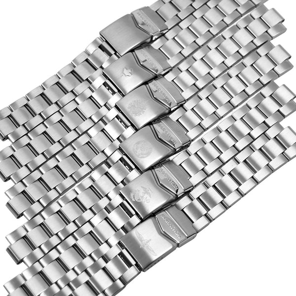 20mm Stainless Steel Bracelet For Search & Rescue Dive (WW194006 & WW194007) Watches - marathonwatch
