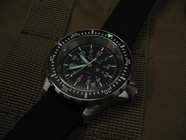 Large Diver's Automatic (GSAR) No Government Markings - 41mm - marathonwatch