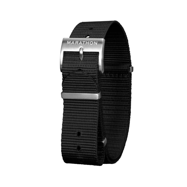 18mm Nylon Defence Standard Watch Strap - Stainless Steel Hardware