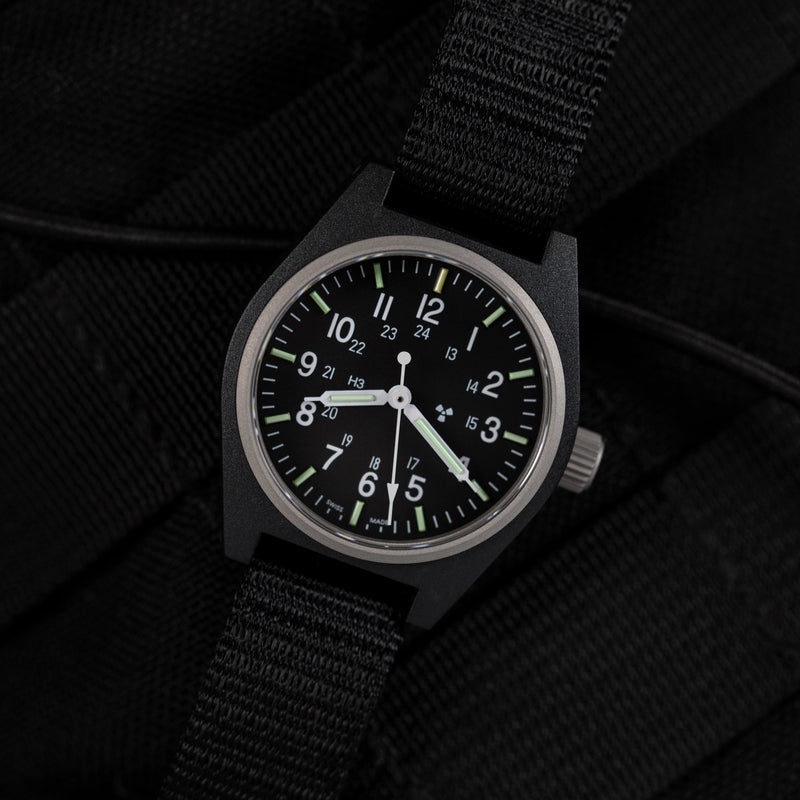 Black General Purpose Quartz (GPQ) - 34mm