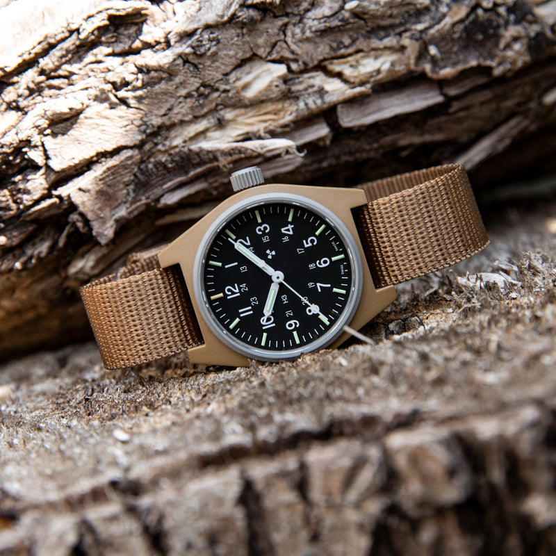 Desert Tan General Purpose Quartz (GPQ) - 34mm