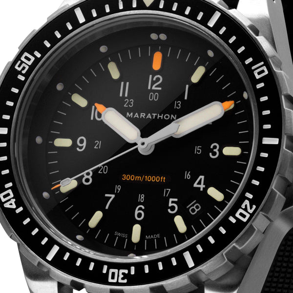 Jumbo Diver's Quartz (JSAR) No Government Markings - 46mm - marathonwatch