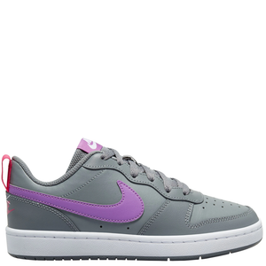 Kids Nike Court Borough Low 2 GS Smoke Grey/Purple Nebula