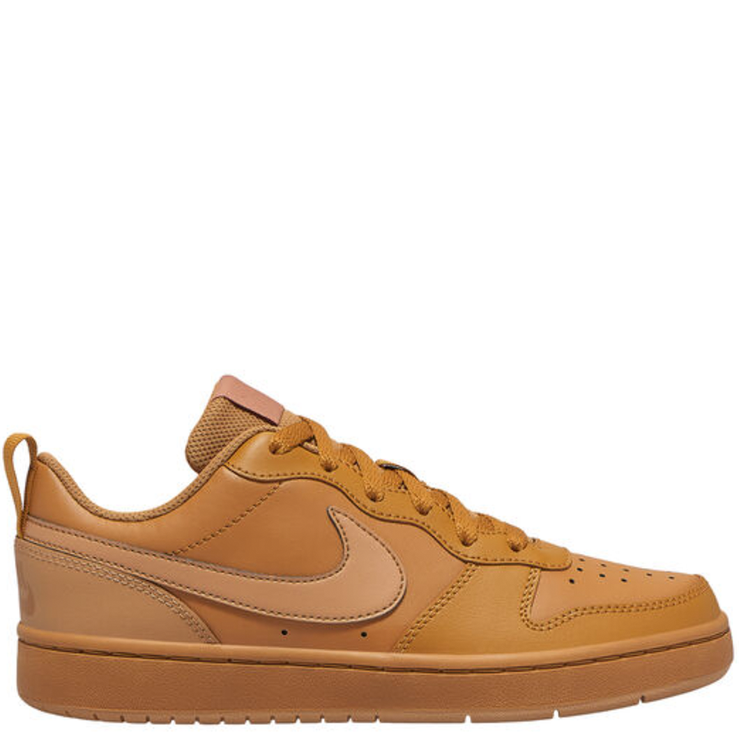 Kids Nike Court Borough Low 2 GS Wheat/Light Brown