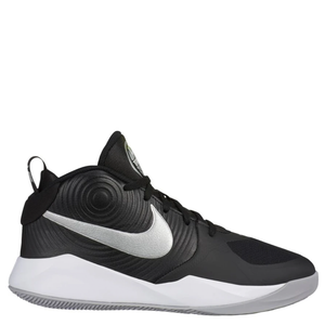 Kids Nike Team Hustle D9 GS Black/Metallic Silver