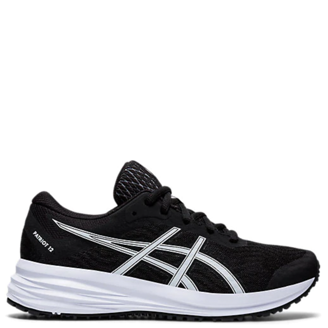 Kids Asics Patriot 12 GS Black/White