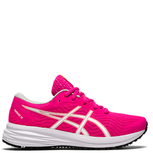 Kids Asics Patriot 12 GS Pink Glo/White