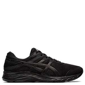 Mens Asics Gel Contend 6 Black/Black