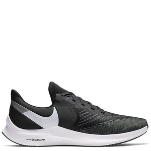 Mens Nike Zoom Winflow 6 Black/White
