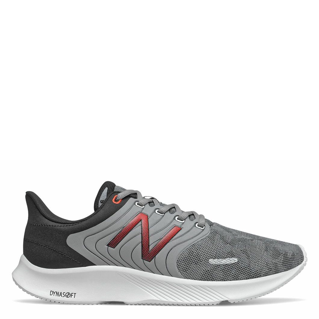 Mens New Balance M068LG (2E Wide) Grey/Black/Red