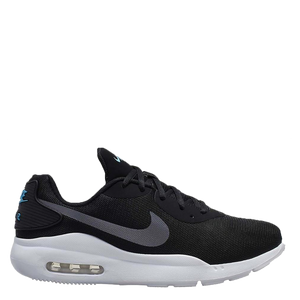 Mens Nike Air Max Oketo Black/Silver
