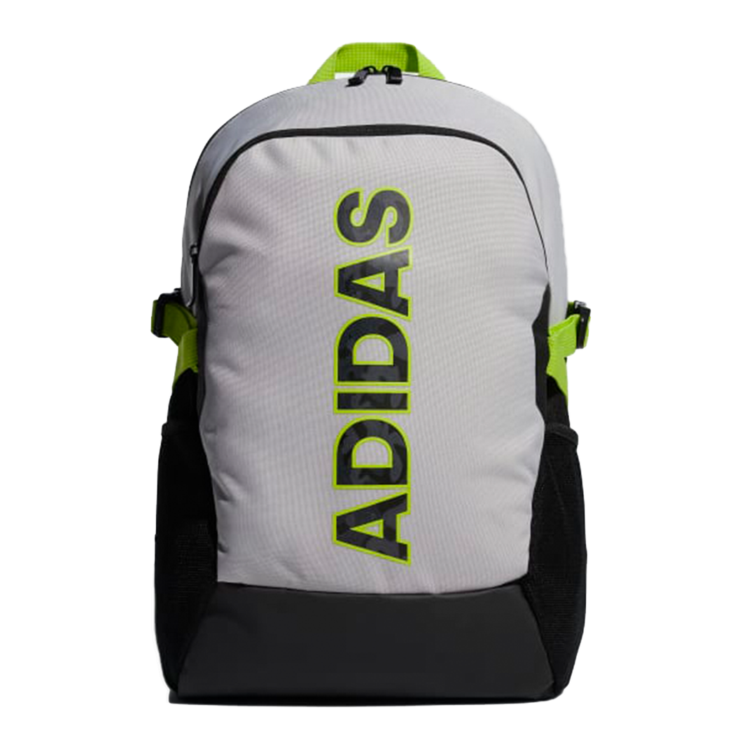 Adidas Power Graphic Backpack Grey/Neon Green