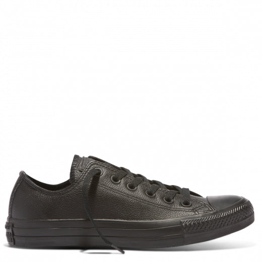 Unisex Converse Chuck Taylor All Star Leather Low Black