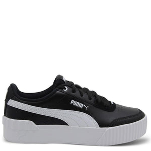 Womens Puma Carina Lift Black/White