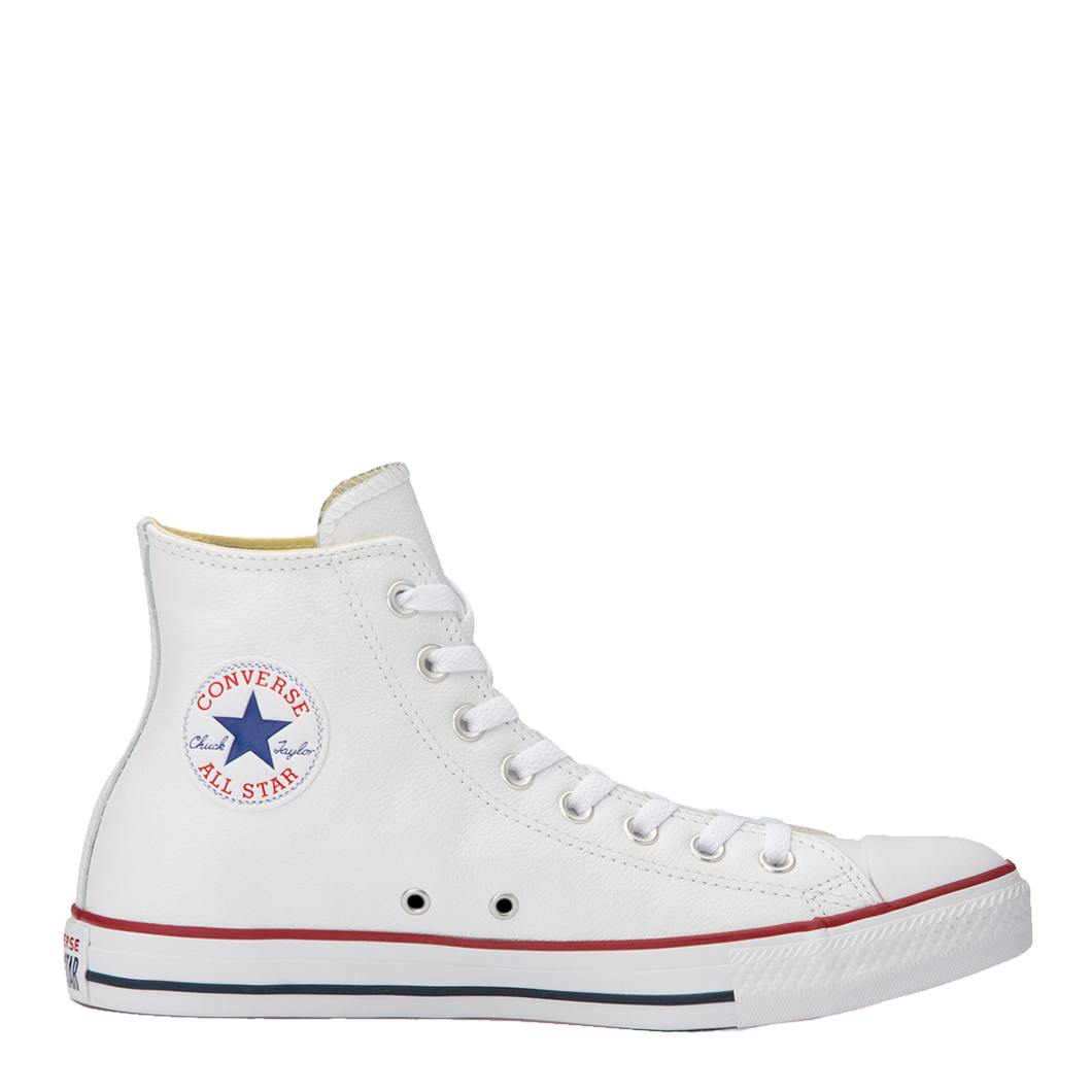 Unisex Converse Chuck Taylor All Star Leather High White