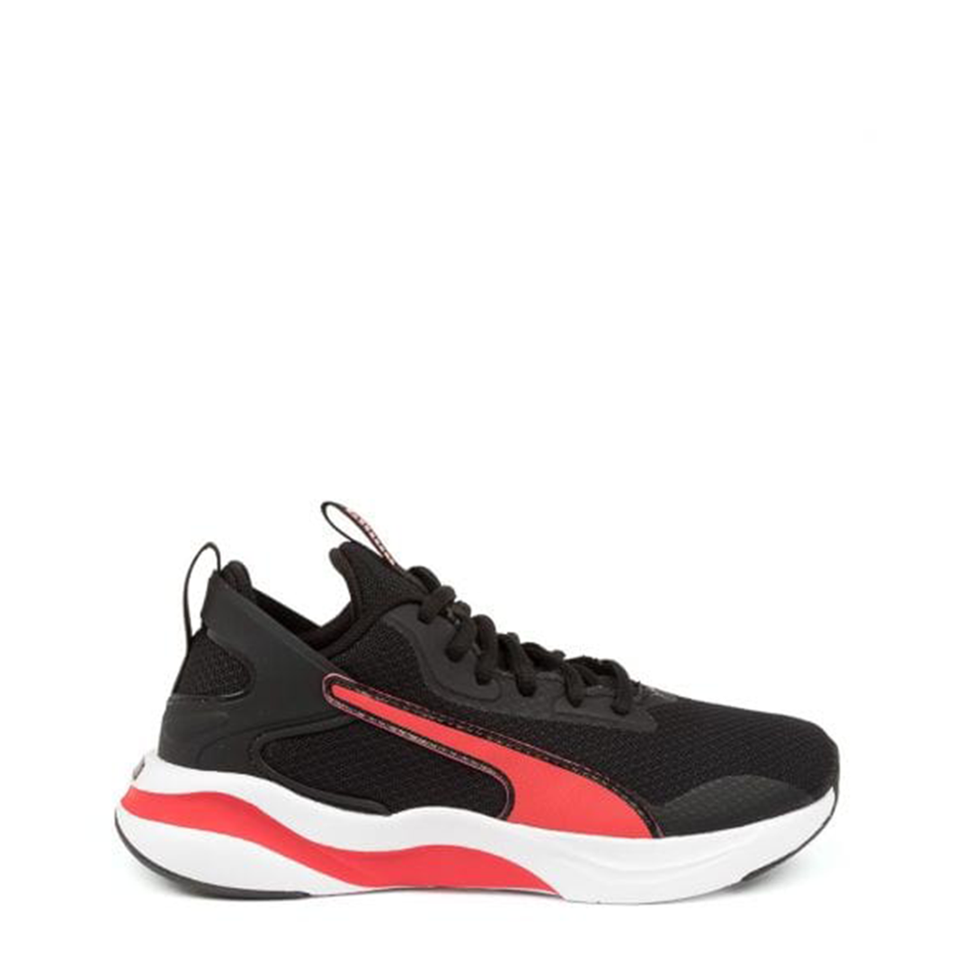 Infants Puma Rift AC Puma Black/High Risk Red