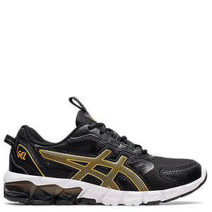 Kids Asics Gel Quantum 90 GS Black/Pure Gold