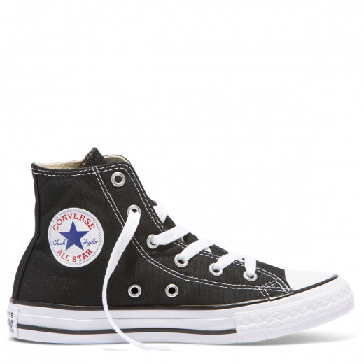 Youth Converse Chuck Taylor All Star Canvas High Black/White