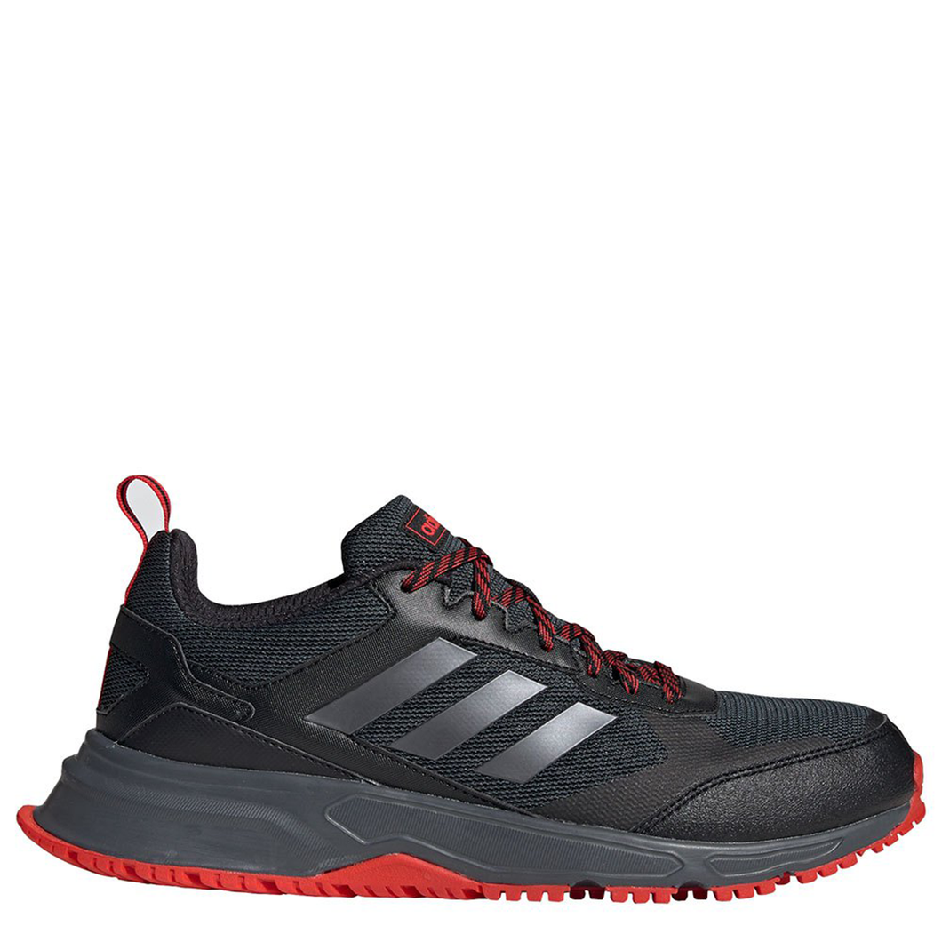 Mens Adidas Rockadia Trail 3.0 Black/Red