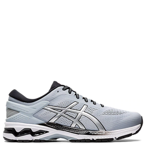 Mens Asics Gel Kayano 26 (2E Wide) Piedmont Grey/Pure Silver