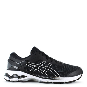 Mens Asics Gel Kayano 26 Black/White