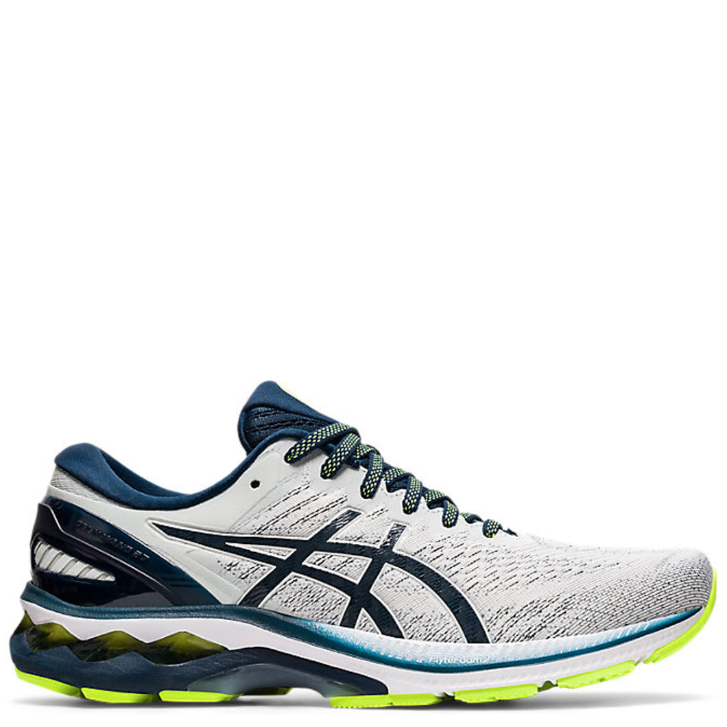 Mens Asics Gel Kayano 27 Glacier Grey/French Blue