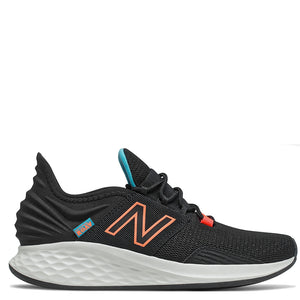 Womens New Balance Fresh Foam Roav WROAVCK Black/Citrus