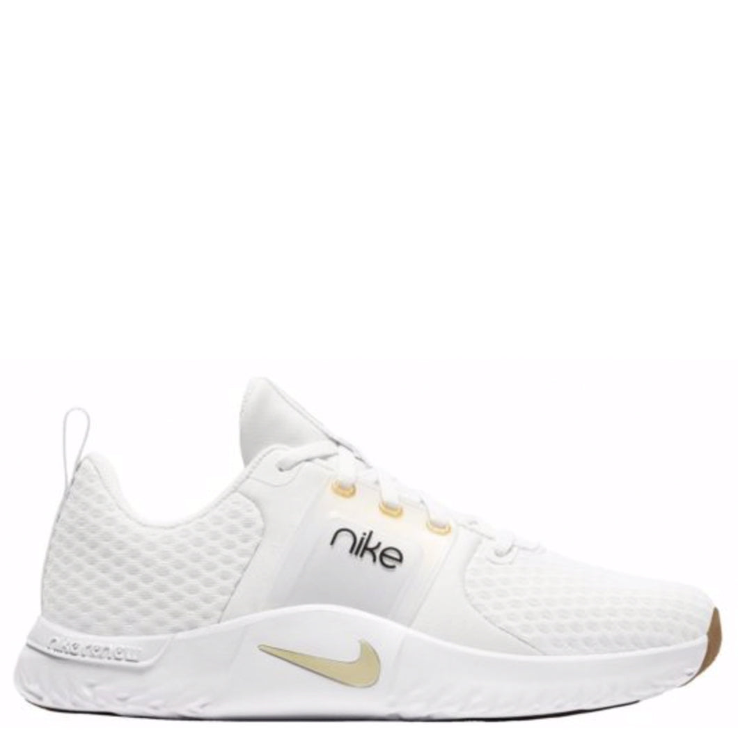 Womens Nike Renew In-Season TR 10 Platinum Tint/Mtlc Gold Star