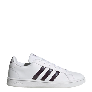 Womens Adidas Grand Court Base White/Brown