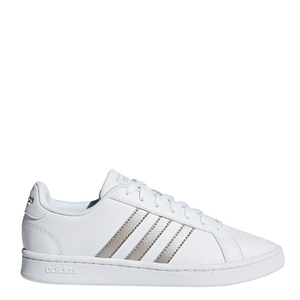 Womens Adidas Grand Court White/Rose Gold
