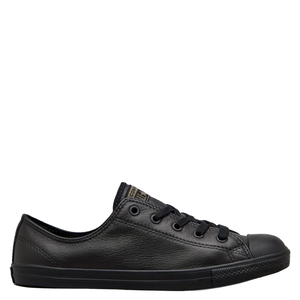 Womens Converse Dainty Black/Leather