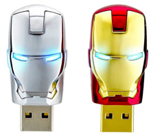 Load image into Gallery viewer, Iron Man 64GB Thumb Drive - Eyes Light Up - FREE SHIPPING