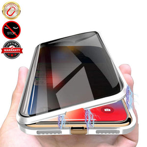 """Magneto"" Tempered Glass Case for iPhone 11 Pro Max XS MAX XR X 8 7 6s 6 Plus SE - FREE SHIPPING"