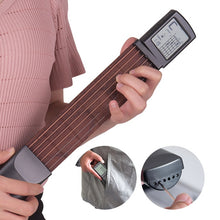 "Load image into Gallery viewer, ""GuitarO"" Pocket Practice Guitar with Digital Readout - FREE SHIPPING"