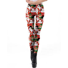 Load image into Gallery viewer, Holiday Leggins for Women of All Sizes - FREE SHIPPING