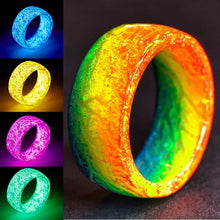 "Load image into Gallery viewer, ""RINGLO"" Glowing Fashion Ring FREE SHIPPING $5.99"