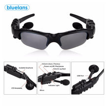 "Load image into Gallery viewer, ""BlueEyes"" Bluetooth Cycling Headphone Sunglasses - FREE SHIPPING"