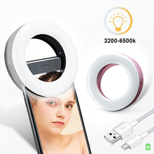 "Load image into Gallery viewer, ""Selfie Time"" Professional Vlogger Lighting - FREE SHIPPING"