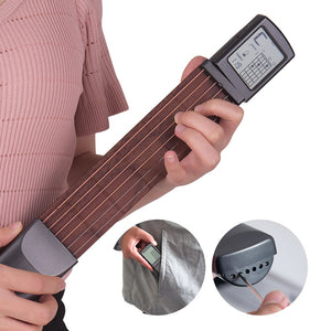 """GuitarO"" Pocket Practice Guitar with Digital Readout - FREE SHIPPING"